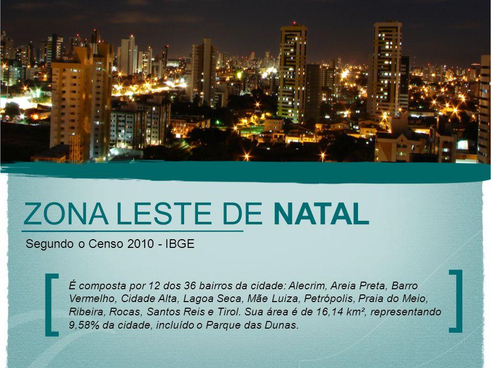 ] [ ZONA LESTE DE NATAL Segundo o Censo 2010 - IBGE